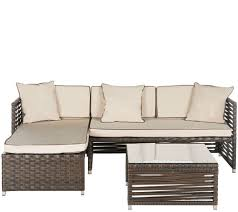 Round Sectional Patio Furniture - outdoor furniture u2014 outdoor living u2014 for the home u2014 qvc com