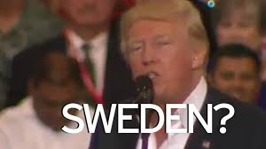 donald trump refers to incident u0027last night u0027 in sweden that didn u0027t