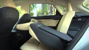 lexus rx 2016 interior back seat nx power folding rear seat youtube