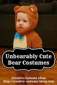 grizzly bear halloween costume unbearably cute bear halloween costumes for the whole family