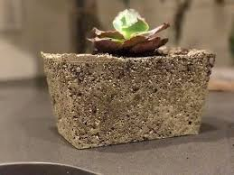 light weight concrete planters garden diy youtube