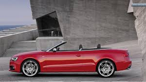 wallpapers front magazine red audi s cabriolet side view near free
