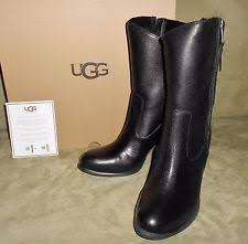 s ugg black leather ugg australia s patent leather shoes ebay