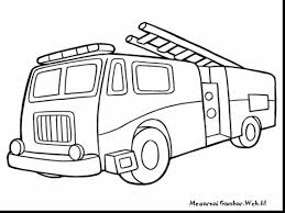 terrific lego fire truck coloring pages fire truck