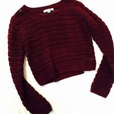 55 forever 21 sweaters sold forever 21 marsala knit