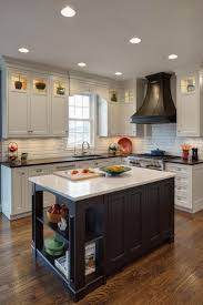 white kitchen cabinets with black island l shaped kitchen designs with breakfast bar kutsko kitchen