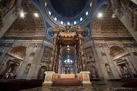 baldacchino by bernini bernini bronze baldacchino the altar of st s