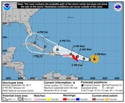 irma u0027s threat to u s increases but new orleans still seems safe
