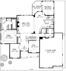 french floor plans french country two story home plan 89194ah 1st floor french country