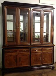 Broyhill China Cabinet Vintage Broyhill China Cabinet In The Style Of Chin Hua By Modonmain