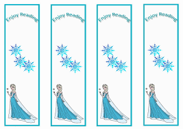 6 images frozen printable bookmarks color frozen