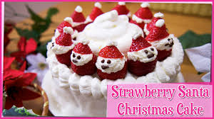 strawberry christmas cake 12 days of christmas youtube