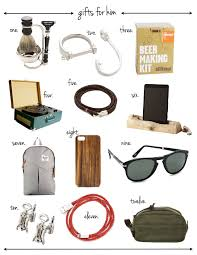 gift guide for him veryallegra