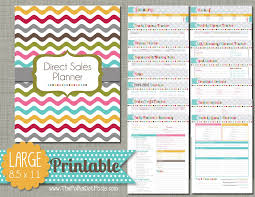 Party Planning Spreadsheet The Polka Dot Posie Direct Sales Planner Instructions For