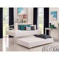 Couch Trundle Bed Daybed And Trundle Off White Metal Twin Bed Frame Spare Guest Sofa