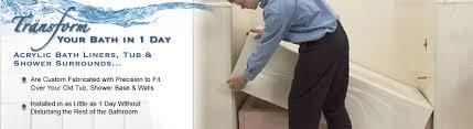 Acrylic Bathtub Liners Bathtub Liners Cocoa Beach Install Bath Liners Melbourne Fl