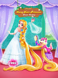 long hair princess wedding android apps on google play