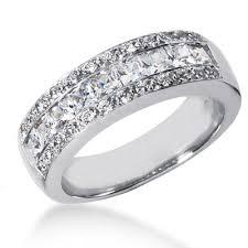 mens diamond wedding ring platinum men s diamond wedding ring 1 65ct