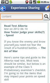 driver license test alberta android apps on google play