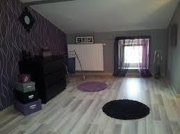 chambre violette et grise chambre mauve et grise mineral bio