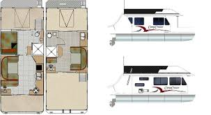 Custom House Plans For Sale Custom Houseboat Sales And Manufacturing Floorplans