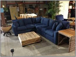 Microfiber Sectional Sofas Denim Sectional Sofa Or 87 Inside Design 12 Shellecaldwell