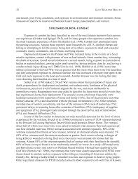 sample of synthesis essay 3 deployment related stressors gulf war and health volume 6 page 32