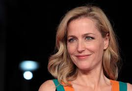gillian anderson at great expectations premiere in rome