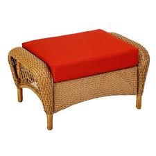 patio furniture with ottomans martha stewart living charlottetown natural all weather wicker patio