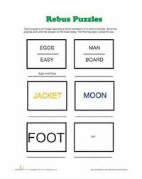 to teach rebus puzzles student and