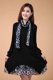 Trendy Plus Size Maternity Clothes Fashion Plus Size Winter Autumn Maternity Dresses Loose Pregnancy