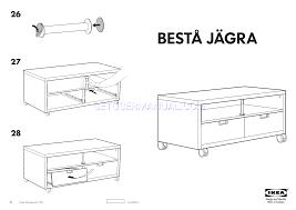ikea besta assembly instructions ikea storage furniture bestã jãgra tv unit casters 47x24 assembly