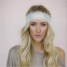 lace headband aliexpress buy summer lace flower elastics headbands