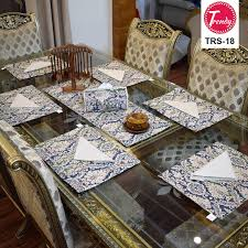 table runner placemat set table runner placemat set trendy pakistan