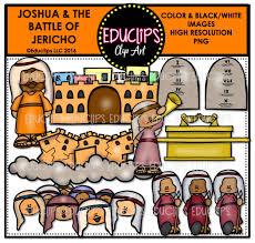 bible stories u2013 joshua u0026 the battle of jericho clip art bundle