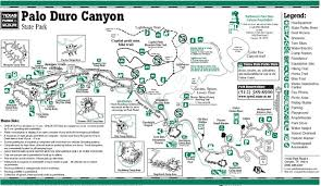 palo duro state park map palo duro canyoneering summitpost