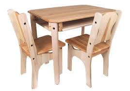 amazon com camden rose child u0027s cherry u0026 maple wood table and 2