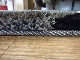 Shaggy Area Rugs Handmade Gray With Black Dimensional Shag Area Rug Rug Addiction