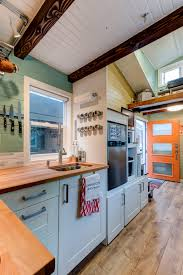 Tiny House Kitchen by The Wanderlust Home From Tumbleweed Tiny House Company A 170