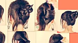 easy and quick hairstyles for school dailymotion 7 cute hairstyles with just a pencil long hair tutorial for school