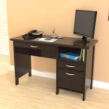 Espresso Computer Desk With Hutch by Inval Soft Form Computer Desk Es 2403