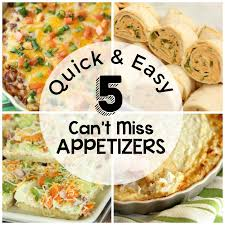 easy appetizers quick and easy appetizers diary of a recipe collector