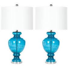 Teal Table Lamp Safavieh Morocco 27