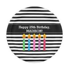 Personalized Birthday Candles Colour Mix Birthday Sticker Birthday Gifts Party Celebration