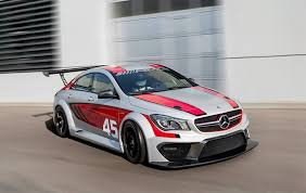 mercedes racing car image mercedes cla45 amg racing series 2013 frankfurt auto