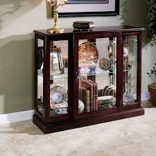 Ideas Design For Lighted Curio Cabinet 82 Best Curio Cabinets Images On Pinterest Glass Cabinets Curio