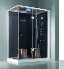 Bath Shower Kits Bathroom Terrific Corner Steam Shower Kits With Stainless Steel
