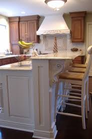 White Kitchen Island With Stools by Splendid Houzz Kitchen Islands With Corbels And Vintage Wood