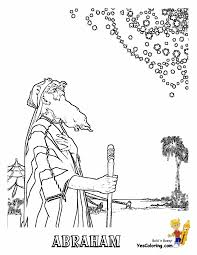 coloring page abraham and sarah coloring abraham coloring pages