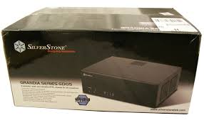 home theater pc case extreme overclocking silverstone grandia gd05 sff htpc chassis